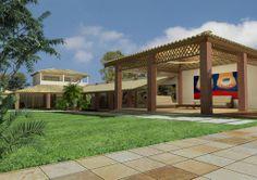 Itaparica, Bahia Parcialmente terminada, esta casa à beira-mar está situada em um terreno espaçoso de 1.000m², perto de Mar Grande, em uma localização estratégica em Itaparica, Bahia.