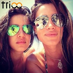 TRIOO Revo Colorful Polarized Sunglasses Women Driving Mirror Lunette Female Sun Glasses For Women 2016 Brand Design Oculos #clothing,#shoes,#jewelry,#women,#men,#hats,#watches,#belts,#fashion,#style