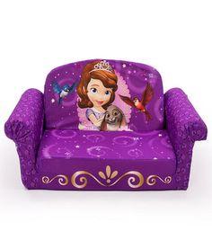 Beautiful Disney Jr. Sofia The First Flip Open Sofa Toddler Sofa, Kids Sofa, Kids