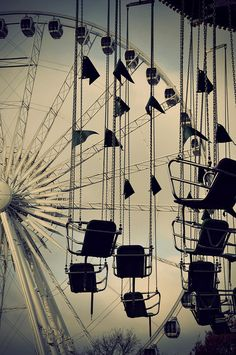 Ferris Wheel and Swing Ride