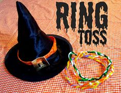 WITCH RING TOSS (and other fun ideas)
