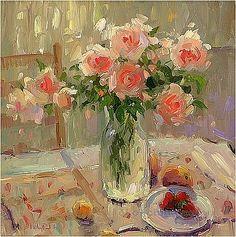Impressionist Flowers    okokchina.com