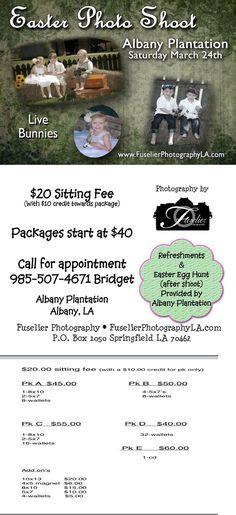 2012 Easter Photo Shoot at Albany Plantation !! Located right outside of Hammond Louisiana