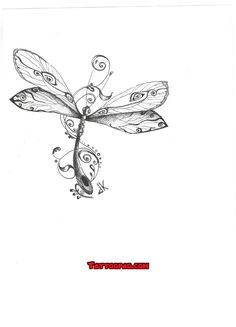 dragonfly tattoo design, tattoo designs and dragon fly tattoos. #tattoo #tattoos #ink