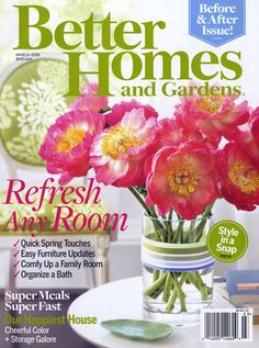 Better Homes & Gardens magazine is designed for people interested in turning home, cooking, and gardening inspiration into action. Description from magazine-subscribe.blogspot.com. I searched for this on bing.com/images