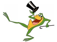 The Warner Brothers singing frog