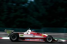 1978 Gilles Villeneuve (Scuderia Ferrari), Ferrari 312T3 - Ferrari Tipo 015 3.0 Flat-12,