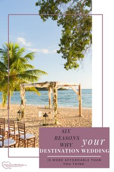 Did you know the average at-home wedding is thousands more than a tropical wedding abroad? Learn 6 reasons why destination weddings are more affordable. Dominican Republic Wedding, Punta Cana Wedding, Wedding Abroad, Wedding Inspiration, Wedding Ideas, Home Wedding, Destination Wedding, Wedding At Home, Destination Weddings