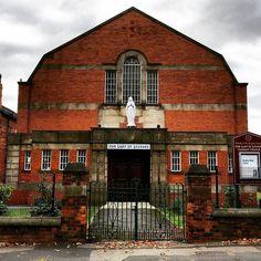 Our Lady of Lourdes #Catholic #Church on Cardigan Road in #Headingley. #LS6 #architecture #building #religion #Christian #Leeds #IgersLeeds #Yorkshire #England #travel #tourism #tourist #leisure #life