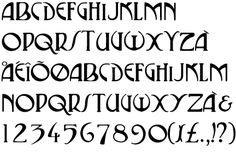 Art Nouveau Typeface ~ P22 Vienna Regular