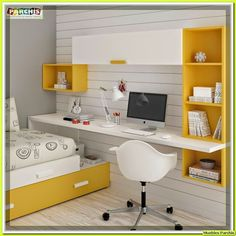 CAMA MESA ABATIBLE | CAMAS AUTOPORTANTES: Tendencias Dormitorios Juveniles |Muebles Juvenile...