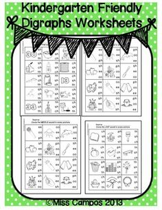 Worksheets Collect The Pictures That Begin Ch And Sh products shorts and kindergarten on pinterest digraph worksheets sh ch th wh ph ee oo