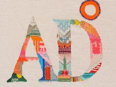 YOLANDA ANDRÉS (Zamora, 1973) Crecí rodeada de hilos, lanas, cintas, en la mercería que regentaba mi madre en el pequeño pueblo de Zamora donde me crié. A los seis años, en el cole, me colocaron un dedal y me enseñaron a bordar; se valoraba, sobre todo, la