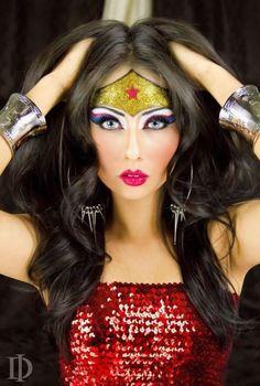 Fantasia de Mulher Maravilha para o Carnaval - 20 Ideias Lindas