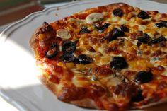 Sibel'in Kahvesi: İnce Hamurlu Pizza
