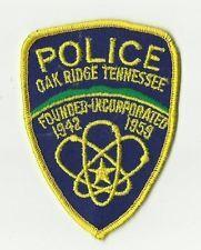 Oak Ridge (TENNESSEE) Police Patch