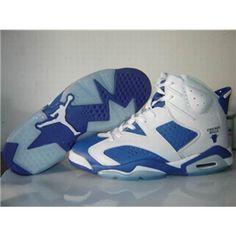 Air jordan 6 VI retro basketball shoes navy blue.
