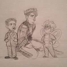 Artemis Fowl playing with the twins | Tumblr