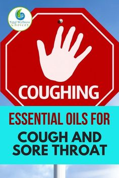 Essential oils are one of the best natural remedies for cough and sore throat. Find out how to use EOs to get rid of a dry, persistent or chronic cough in adults and kids alike. for cough, old cough remedies, cough remedies toddlers, suppressant Best Cough Remedy, Cough Remedies For Kids, Kids Cough, Home Remedy For Cough, Natural Cough Remedies, Cold Remedies, Sore Throat Remedies For Adults, Herbal Remedies, Asthma Remedies
