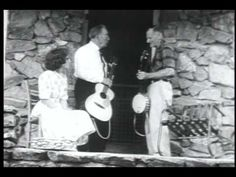 Clog Dancing On The Porch.  Way back in 1964, New York filmmaker, David Hoffman was headed down with his new 16mm hand help camera (weight 49 lbs!) to spend three weeks driving the backcountry around Madison County, North Carolina, in the center of Appalachia, with the 82 year old founder of the pioneer Asheville Mountain Music and Dance Festival, Bascom Lamar Lunsford.