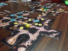 Boardgames; The Cave. Photographer Tara Green