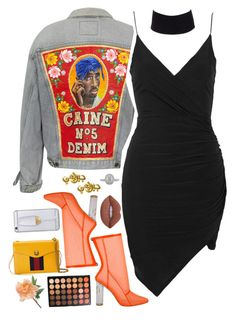 """""""I Do Not Wear Outfits I Create Looks ✨"""" by love-rebelwolf ❤ liked on Polyvore featuring Topshop, River Island, Gucci, Jeremy Scott, Mark Broumand, Est. 98, Morphe and Lime Crime"""