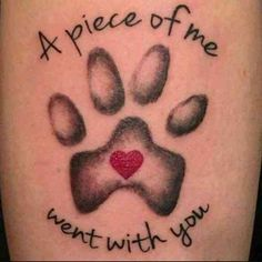 23 Emotional Memorial Tattoos to Honor Loved Ones Cat tattoo Tattoos Skull, Dog Tattoos, Animal Tattoos, Tattoo Cat, Pet Memory Tattoos, Cat Paw Print Tattoo, Horse Tattoos, Lion Tattoo, Sleeve Tattoos
