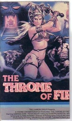 The Throne of Fire ~ Sabrina Siani