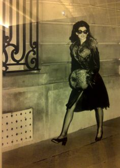 Iconic photo by Helmut Newton