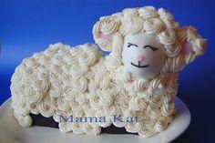 Lamb Cake by Mama Katt, via Flickr
