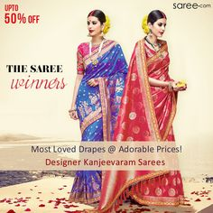 Presenting Never-Before Price Slashes on some of our Bestselling, Most Loved, Adored Sarees - limited edition Designer Kanjeevaram Saris.