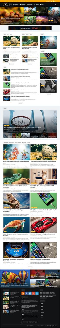 Xecuter is a wonderful responsive #WordPress theme for #News, #blog and magazine websites with 15 unique homepage layouts download now➩ https://themeforest.net/item/xecuter-responsive-wordpress-blog-magazine-theme/19476944?ref=Datasata
