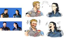 #wattpad #losowo Images, fanart , mem of Thorki I invite you ! I will be grateful for the stars and comments