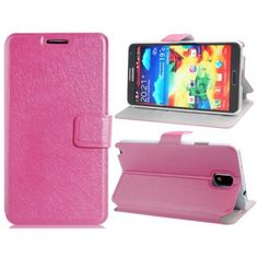 Wallet Case Pink for Samsung Galaxy Note 3