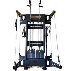 מכונת גלגלת קיר המותקנת על ידי לוחם חוזק - ציוד כוח לוחם Cable Workout, Leg Curl, Workout Posters, Pulley, Wall Mount, Gym, Home And Family, Strength, Training Workouts