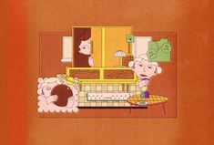 Lisa Simpson, Family Guy, Guys, Illustration, Fictional Characters, Art, Art Background, Kunst, Illustrations
