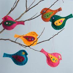 Derya Baykal Keçe Kuş Modelleri