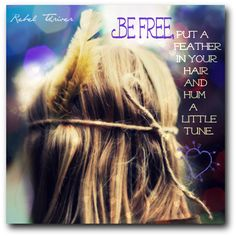Be free!  Love to Ella of Rebel Thriver for the share. Love, Kimberley Jones ♥  Rebel Thriver