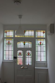 Refurbishment of 1930s semi traditional entry