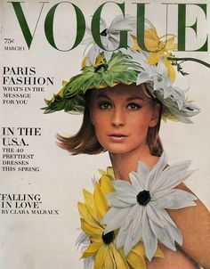Vogue March 1964  Sandra Paul by Bert Stern