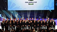 The coaches of the national football teams of the 32 nations that have qualified for the 2014 World Cup Finals
