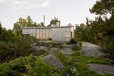 LY Arkitekter, Norway. Storøya Summer house.