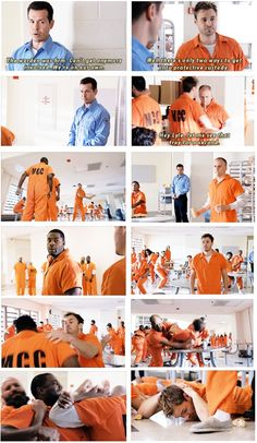 Ruzek and Atwater fight - 2x06