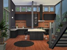 The Sims Resource: Elements residential home by Chemy house conversion house ideas house interior house interior floor plans house interior small house plans Sims 3 Houses Ideas, House Ideas, Sims 4 Houses Layout, Sims Ideas, Sims 4 House Plans, Sims 4 House Building, Sims 2 House, Sims 4 Ps4, Sims 4 Game