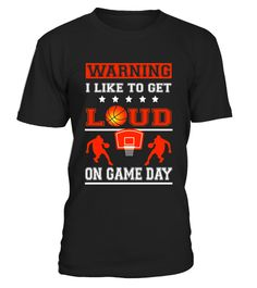 """# Warning I Like To Get Loud On Game Day Basketball Fan Parent .  Special Offer, not available in shops      Comes in a variety of styles and colours      Buy yours now before it is too late!      Secured payment via Visa / Mastercard / Amex / PayPal      How to place an order            Choose the model from the drop-down menu      Click on """"Buy it now""""      Choose the size and the quantity      Add your delivery address and bank details      And that's it!      Tags: Funny saying sarcastic…"""