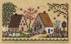 """Detail from """"Babe's Honey Farm"""" by Victoria Sampler"""