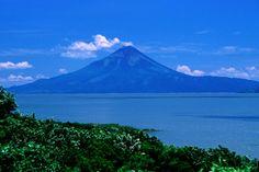 Lake Managua in Managua, Nicaragua.