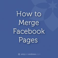 how to merge facebook pages  Ideas Negocios Online para www.masymejor.com