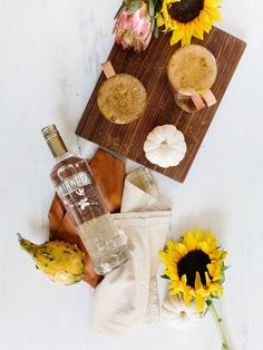 Cocktail Hour    Vanilla Pumpkin Spice Mules Recipe - The Effortless Chic