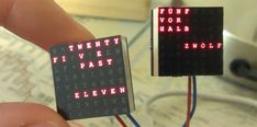 A word clock - a clock that tells time with words, not dials or numbers - is one of those builds that's on every Arduino neophyte's 'To Build' list. It's a bit more complex than blinking a LED, but a...